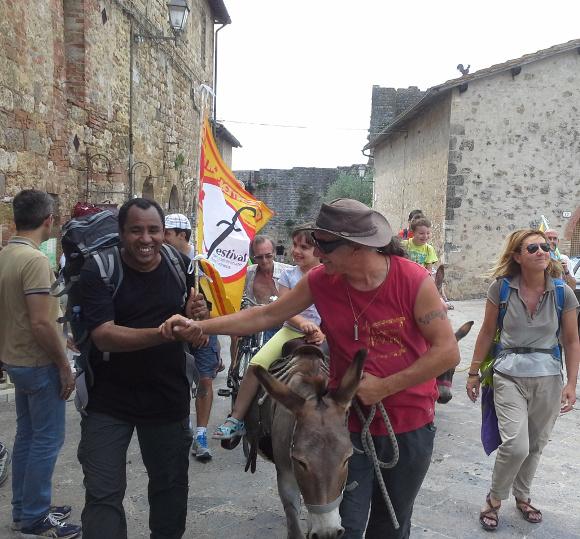 Monteriggioni, festival della viandanza – foto di Luca Gianotti