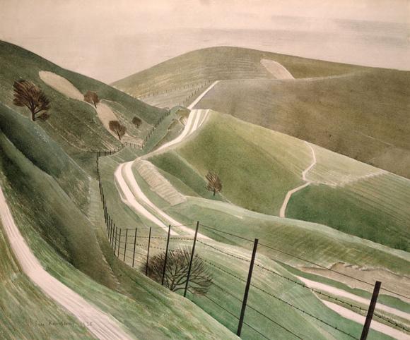 Eric Ravilious, Sentieri nel gesso