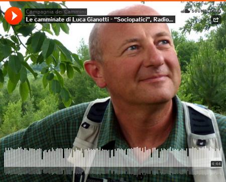 Le camminate di Luca Gianotti - Radio Rai 2