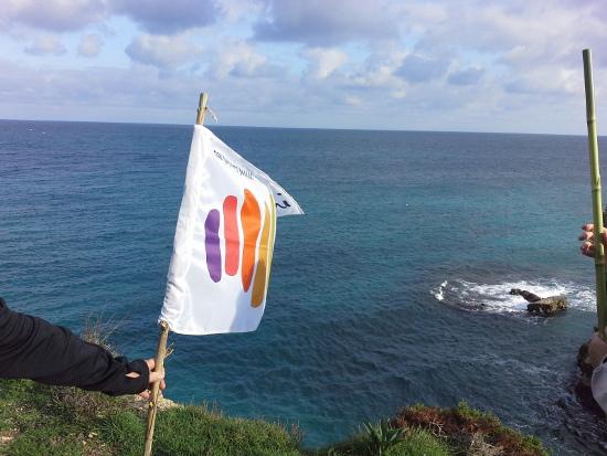 Bandiera Compagnia dei Cammini in Salento