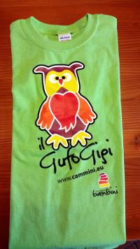 Maglietta Gufo Gigi per i bambini