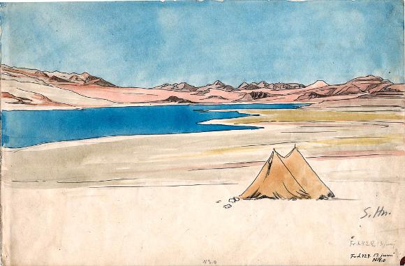 Sven Hedin, Campo 428/13 giugno, 1907?