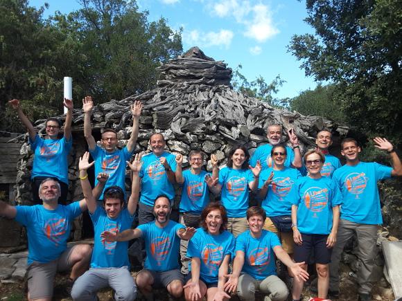 Il gruppo Sardegna selvaggia e blu, cammino appena concluso