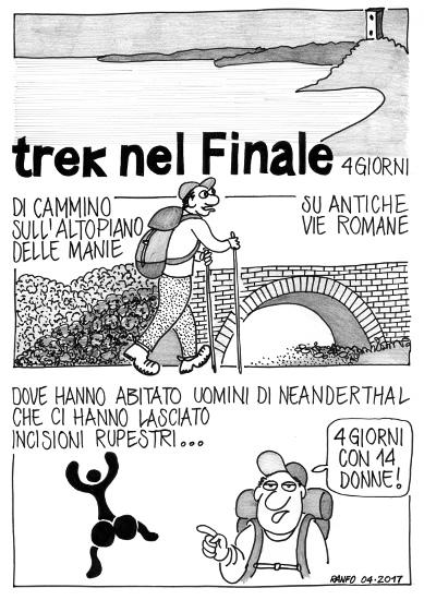 Trek nel Finale - Vignetta di Ranfo