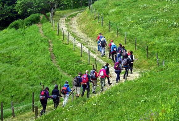 Corso di Deep Walking, Schio, In cammino, foto di Marco Adriani