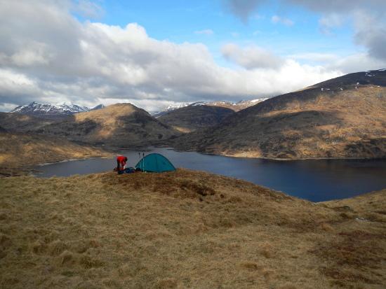Esplorazioni in Scozia. Foto Franco Michieli