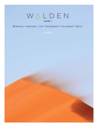 Walden volume 1 Il vento. Wilderness / Awareness / Life / Development / Nature
