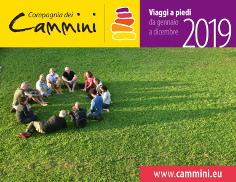 Copertina catalogo 2019 Compagnia dei Cammini