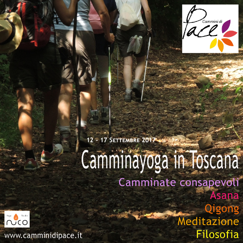 Camminayoga in Toscana - Cammini di Pace