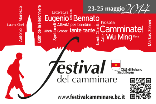 Festival del Camminare – 23-25 maggio 2014