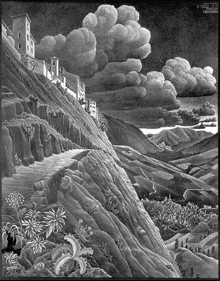 Litografia di Castrovalva (Escher)