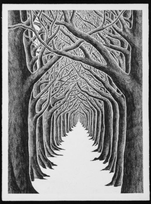 Stanley Donwood, The end of Humor, 2014