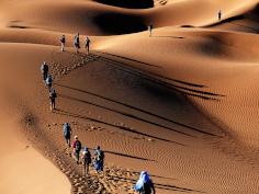 Marocco, deserto