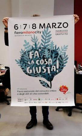 Fa' la cosa giusta, fieramilanocity, 6-7-8 marzo 2020, ingresso gratuito. Fiera nazionale del consumo critico e degli stili di vita sostenibili.