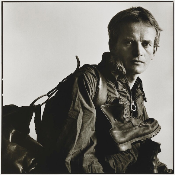 Bruce Chatwin. Foto Lord Snowdon, 1982