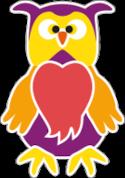 Logo gufo Gigi - Compagnia dei Bambini.