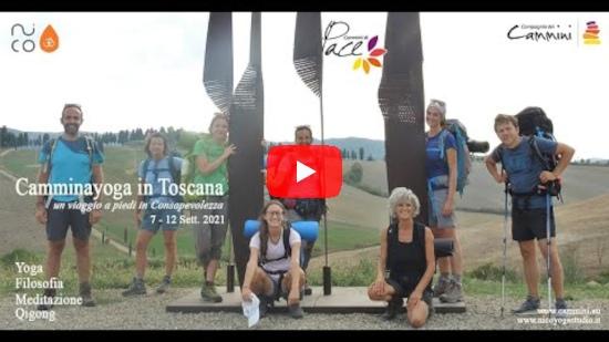 Camminayoga in Toscana