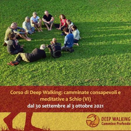 Corso di cammino profondo a Schio(VI), dal 30settembre al 3ottobre 2021