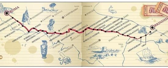 Mappa Via Appia