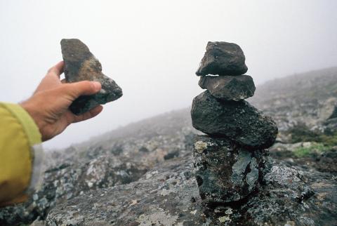 ometto di pietre