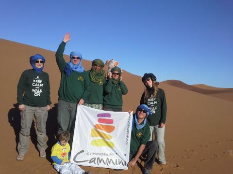 Guide della Compagnia dei Cammini nel deserto del Sahara
