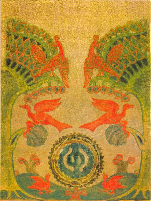 Nicholas Roerich - A good tree has grown - 1914