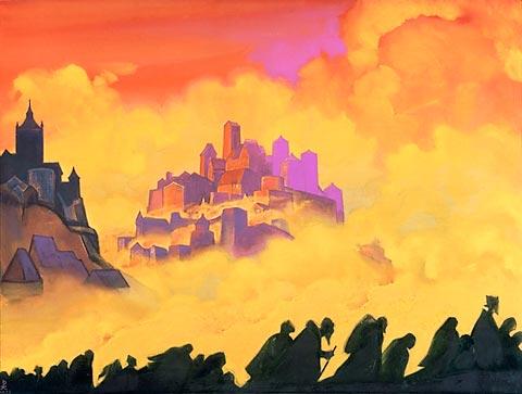 Nicholas Roerich - Armageddon