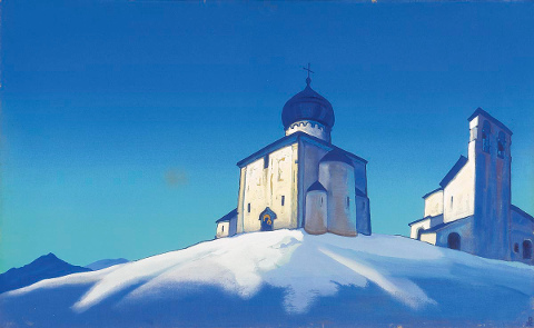 Nicholas Roerich - Cappella di San Sergio