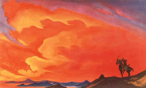 Nicholas Roerich - Gesar Kahn