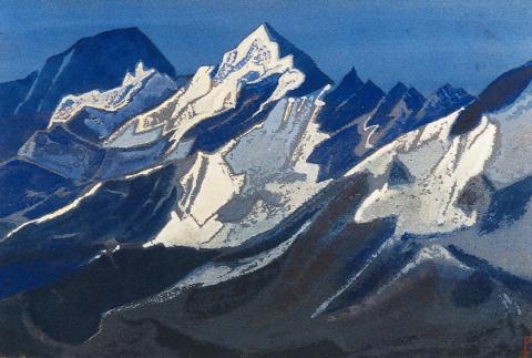 Nicholas Roerich - Himalaya, 1941