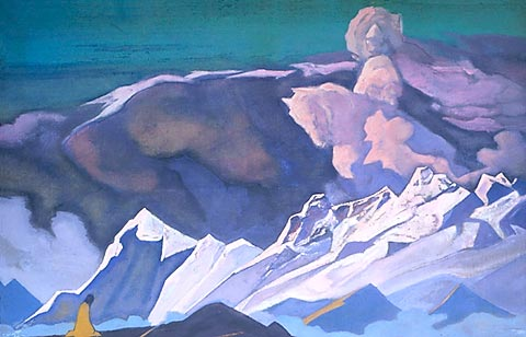 Nicholas Roerich - Kalki Avatar