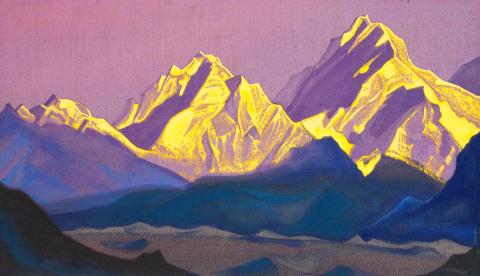 Nicholas Roerich - Kanchenjunga, 1938