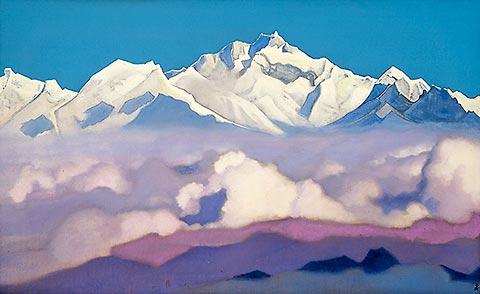 Nicholas Roerich - Kanchenjunga