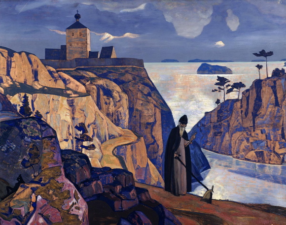 Nicholas Roerich, Lago sacro, 1917