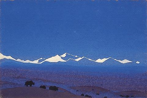 Nicholas Roerich - Nan Shan. Frontiera tibetana