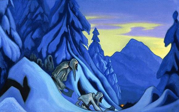 Nicholas Roerich - Partigiani