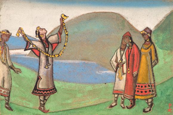 Nicolas Roerich, La Sagra della Primavera, 1912