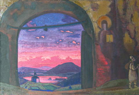Nicholas Roerich - San Sergio, 1922