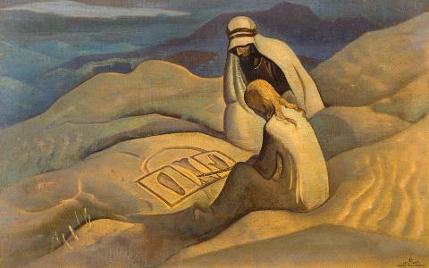 Nicholas Roerich - I segni di Cristo