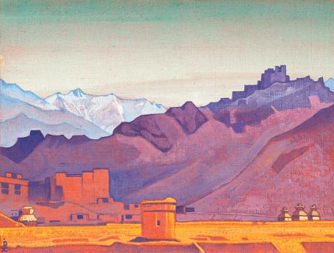 Nicholas Roerich - Sentiero verso il Tibet 1925