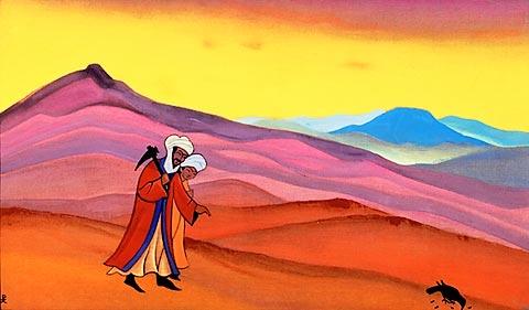 Nicholas Roerich - Shirin e Khosrov