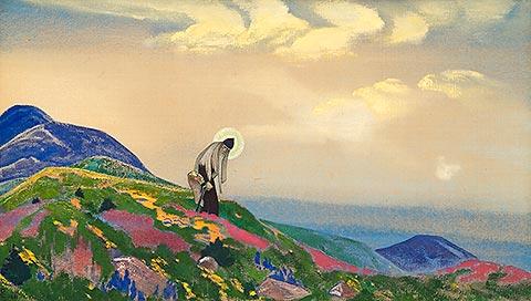 Nicholas Roerich - San Panteleimon il guaritore
