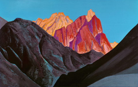 Nicholas Roerich - Tramonto