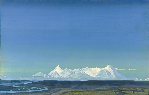 Nicholas Roerich - La più grande e più sacra del Tangla