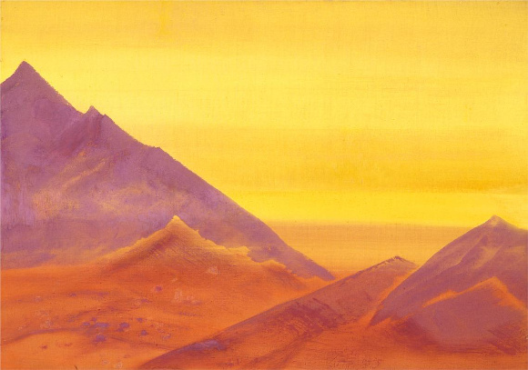 Nicholas Roerich - Alba, 1930
