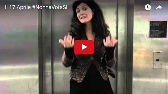 Video Il 17 Aprile NonnaVotaSI