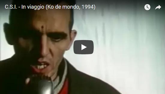 Video CSI - In viaggio (Ko de mondo, 1994)