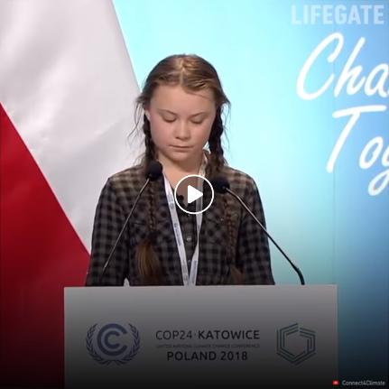 Video Cop 24, il discorso di Greta Thunberg per il clima che tutti dovremmo ascoltare