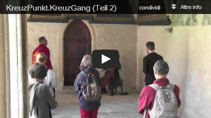 Video: Performance artistica di Robert e Elke Hager al Festival del camminare di Bolzano