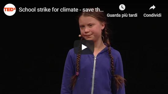 Conferenza TEDx di Greta Thunberg